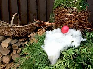 Garten Deko Basteln Mit Naturmaterialien