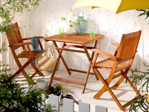 Gartenmöbel für den Balkon