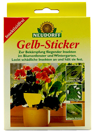 Gelbfallen for Gelbsticker neudorff