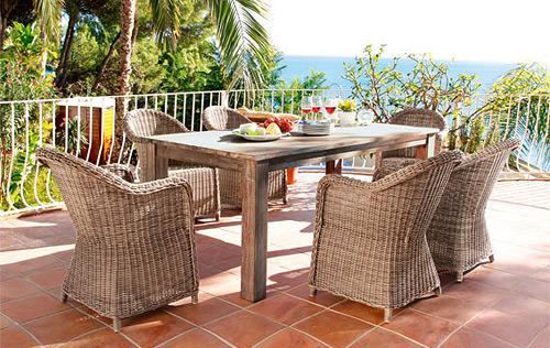 outdoor rattan polyrattan. Black Bedroom Furniture Sets. Home Design Ideas
